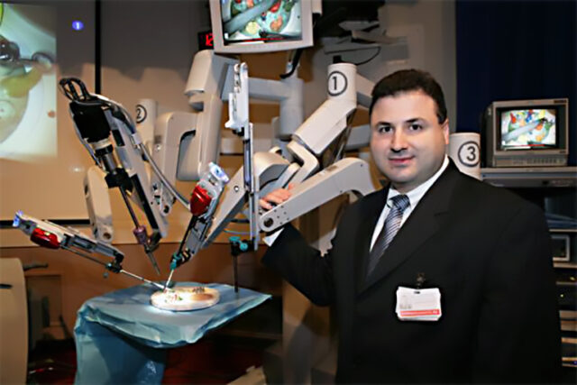 Dr. Domenico Savatta - Robotic Surgeon